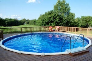 Welcome to fiesta pools and spas for Above ground pool decks tulsa