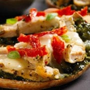 Mediterranean Mini Pizzas