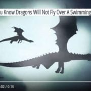 Dragons Won't Fly Over a Swimming Pool